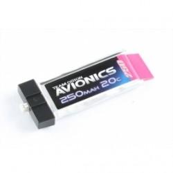 MICRO LIPO 250MAH 3.7V AVIONICS