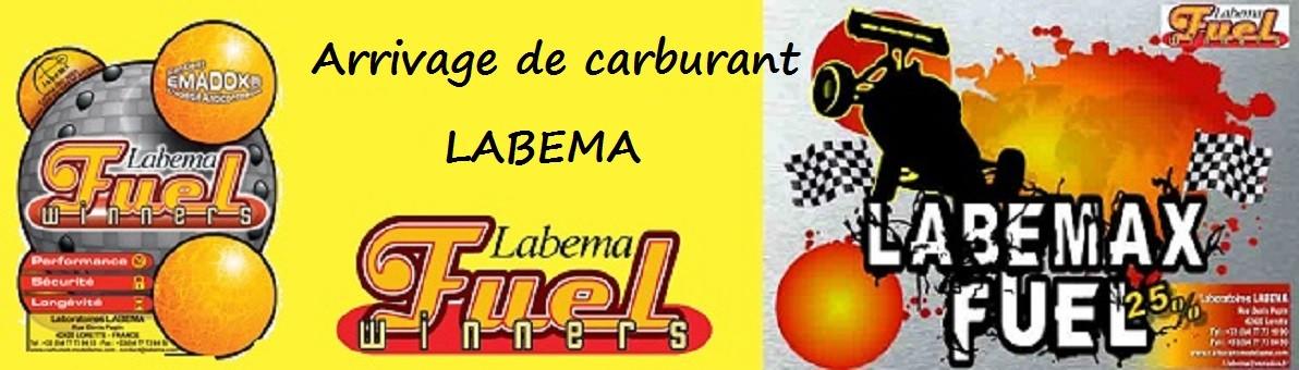 Arrivage de carburant labema pour avions (MP15, M1.2, M20) mais aussi pour voitures avec le Labemax 16% ou 25%.