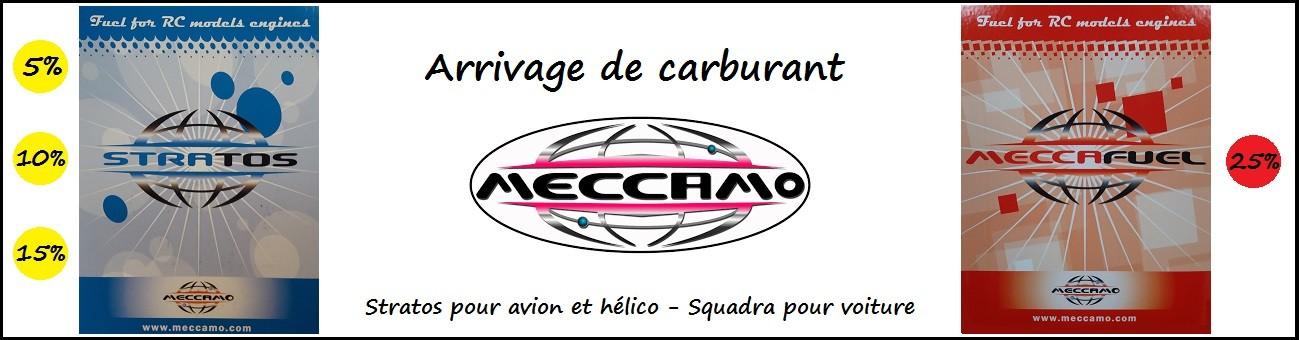 Arrivage de carburant Meccamo pour avions (Stratos 5%, 10% ou 15%) mais aussi pour voitures avec le Squadra 25%.