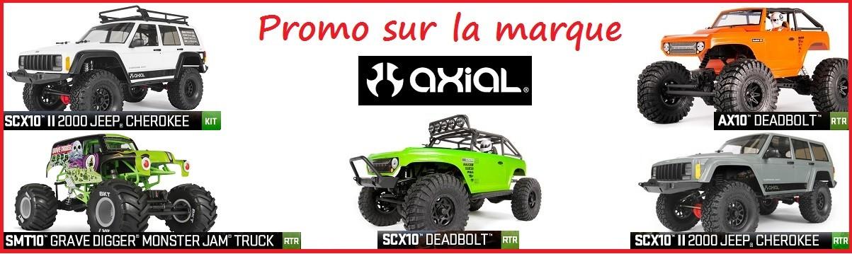 Tous nos kits Axial: du SCX10 Jeep Cherokee au Monster Jam