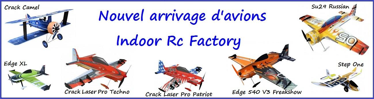Avion Indoor en EPP Rc Factory